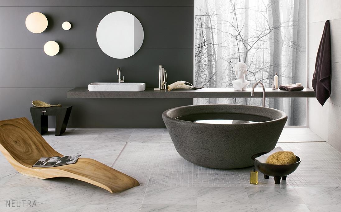 Neutra-stenbadkar-marmorbadkar-svart