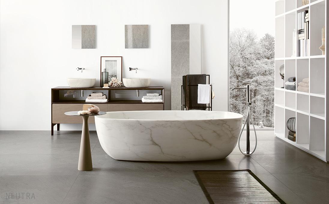 Neutra-stenbadkar-marmorbadkar-vit
